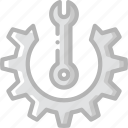 manufacture, industrial, industry, factory, mantainence, options, machines icon