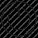 reset, start icon