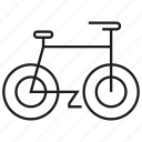 bicycle, ride icon