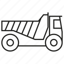 car, loading, truck icon