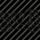 car, loading, truck