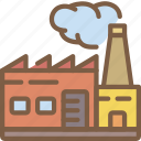 factory, industrial, industry, machines, manufacture icon