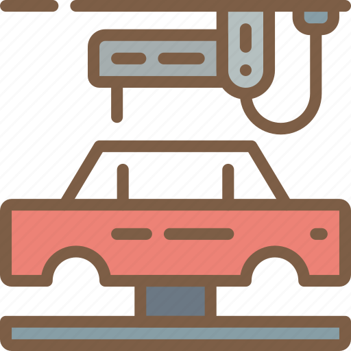 car, factory, industrial, industry, machines, manufacture, manufacturing icon