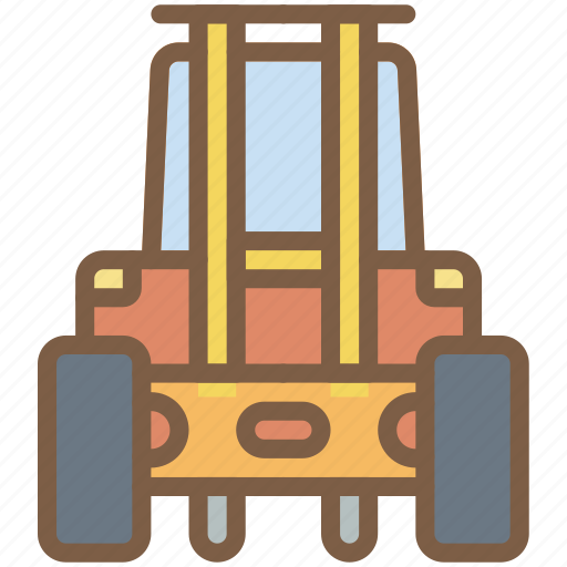 factory, forklift, industrial, industry, machines, manufacture icon
