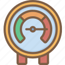 factory, gauge, industrial, industry, machines, manufacture, pressure icon