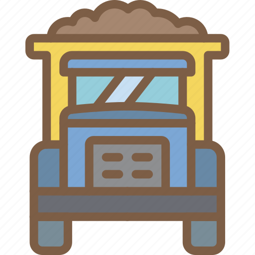 factory, industrial, industry, machines, manufacture, truck icon