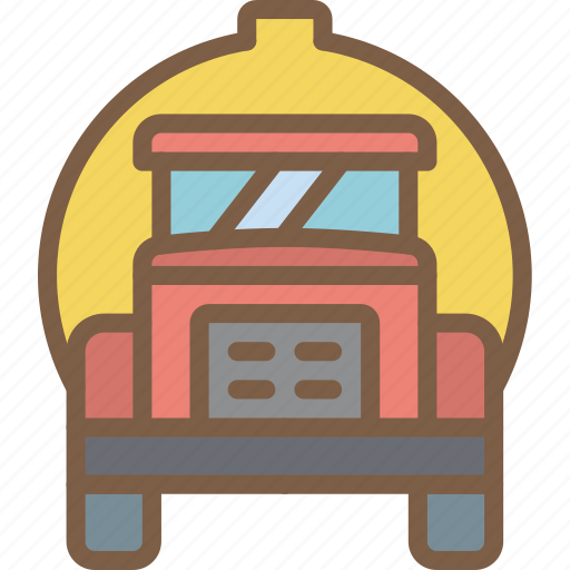 factory, industrial, industry, machines, manufacture, oil, truck icon