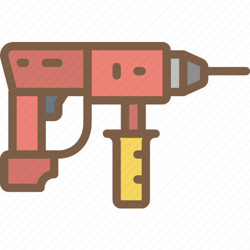drill, factory, industrial, industry, machines, manufacture icon
