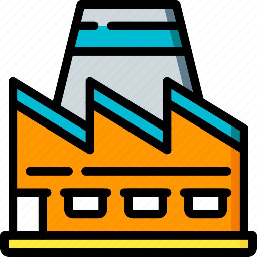 factory, industrial, industry, machines, manufacture, nuclear icon