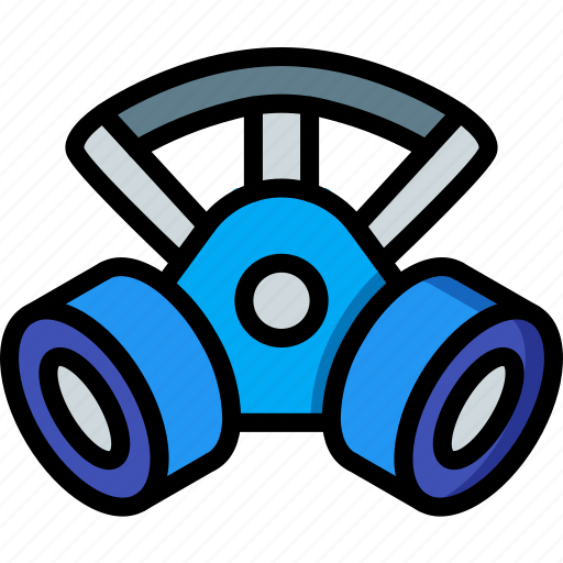 Factory, industrial, industry, machines, manufacture, mask icon - Download on Iconfinder
