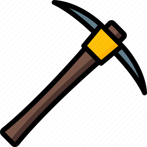 Axe, factory, industrial, industry, machines, manufacture, pick icon - Download on Iconfinder