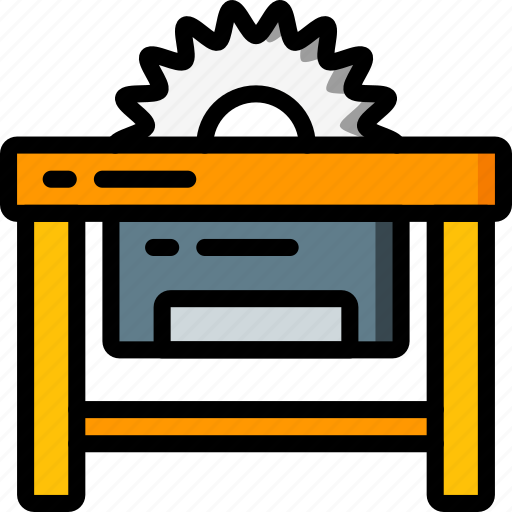 Factory, industrial, industry, machines, manufacture, saw icon - Download on Iconfinder