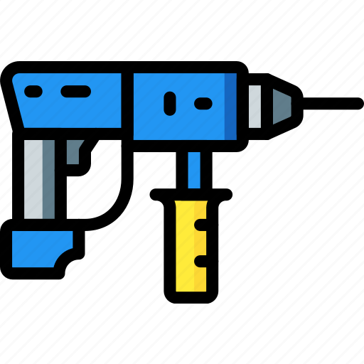 Drill, factory, industrial, industry, machines, manufacture icon - Download on Iconfinder