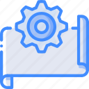 manufacture, industrial, industry, factory, plan, options, machines icon