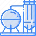 factory, industrial, industry, machines, manufacture, silo icon