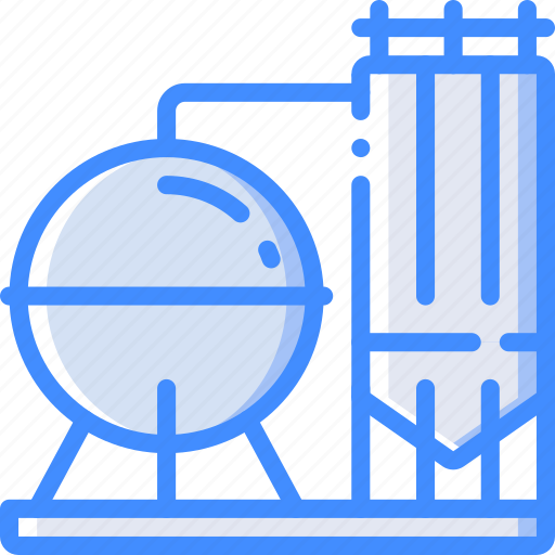 Factory, industrial, industry, machines, manufacture, silo icon - Download on Iconfinder