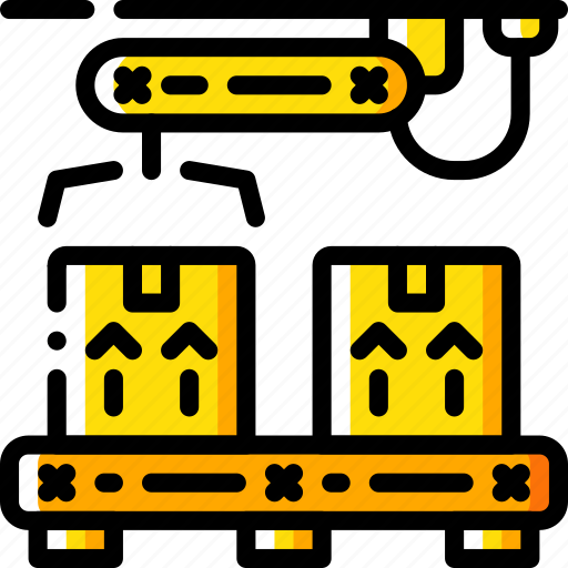 box, factory, industrial, industry, machines, manufacture, manufacturing icon