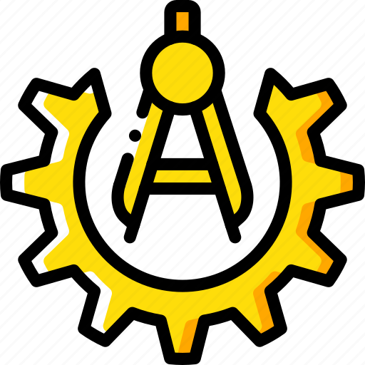 factory, industrial, industry, machines, manufacture, measuring, options icon