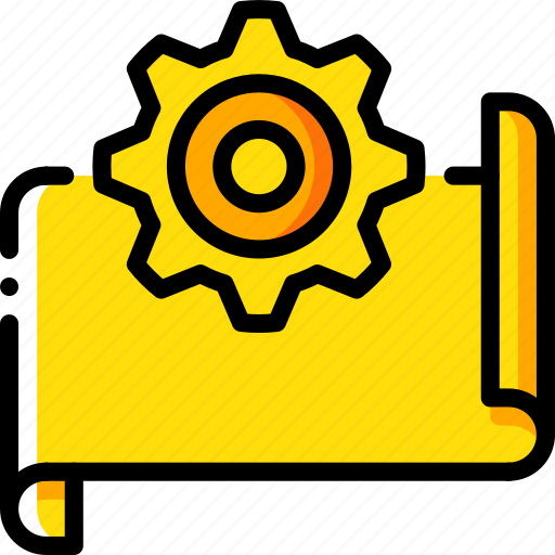 factory, industrial, industry, machines, manufacture, options, plan icon