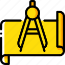 factory, industrial, industry, machines, manufacture, planning icon