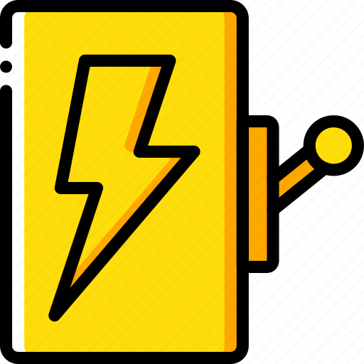 electricity, factory, industrial, industry, machines, manufacture, switch icon