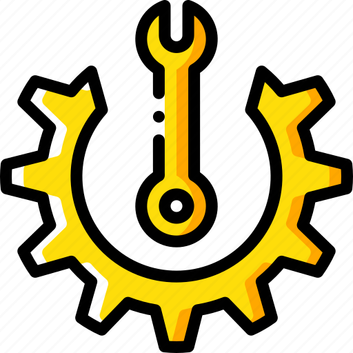 factory, industrial, industry, machines, mantainence, manufacture, options icon