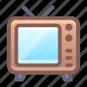 tv, retro, channel