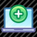 laptop, add, new