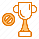 achievement, business, no, thropy, work icon