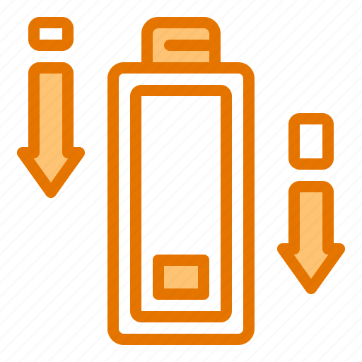 battery, charge, energy, low, phone icon