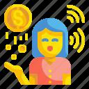 cash, change, coin, currency, dolar, finance, money