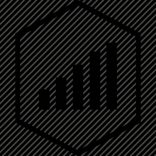 bars, data, graphics, info icon