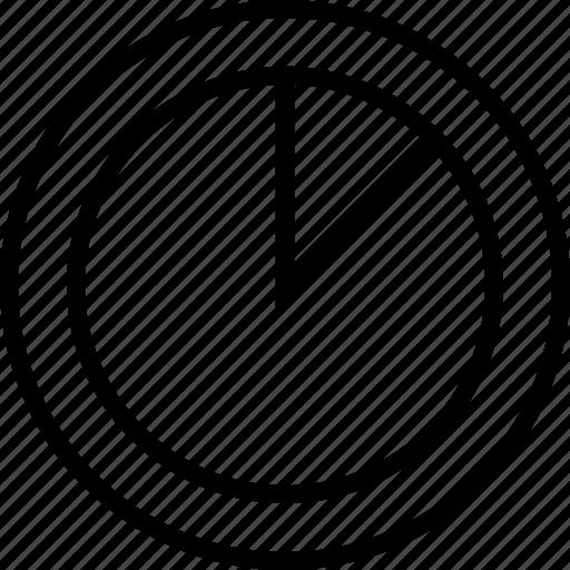 fifteen, graphics, info, percent icon