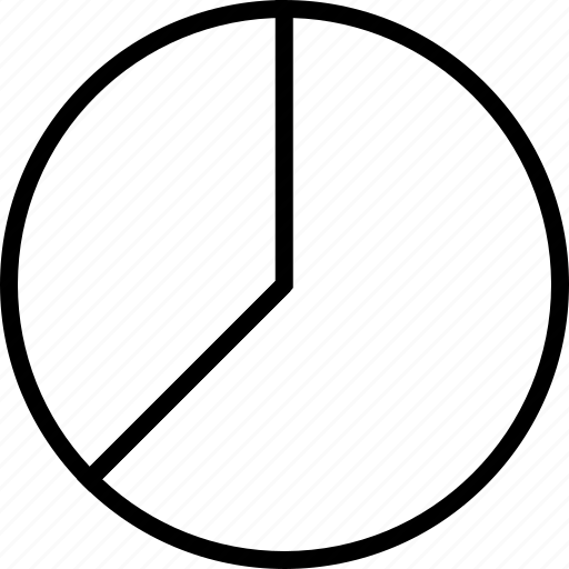 data, quarters, three icon