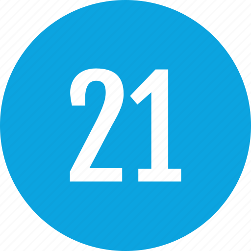 count, interface, number, one, track, twenty icon