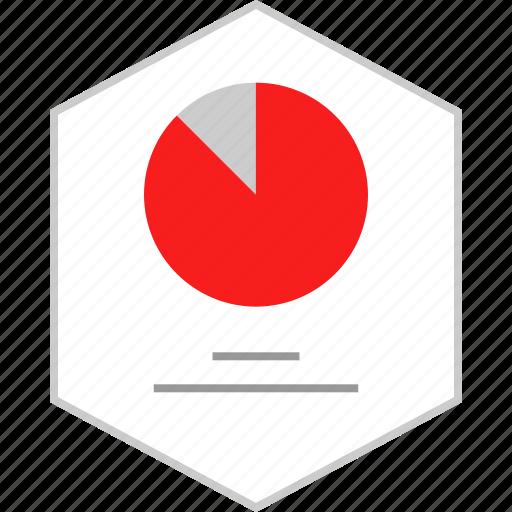 chart, graphic, pie, web icon