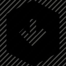 data, decline, down, graphics, info icon