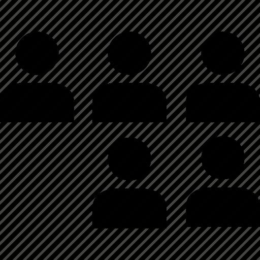 data, five, graphics, info, person, user icon