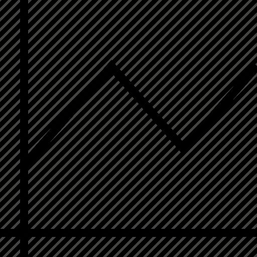 data, graph, graphics, info, lines icon