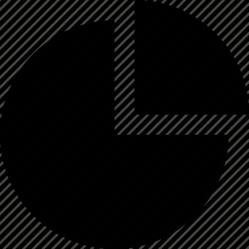 analyze, chart, data, graphics, info, pie icon