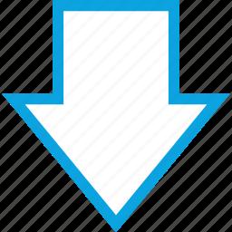 analytics, down, gfx, graphic, information, load icon