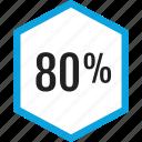 analytics, eighty, gfx, graphic, information icon