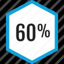 analytics, gfx, graphic, information, sixty icon