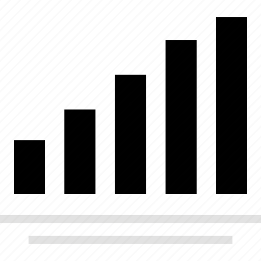 analytics, bars, gfx, graphic, information, lines icon