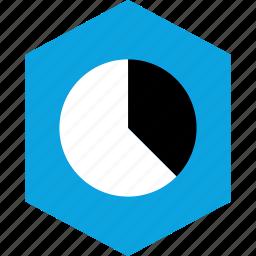 analytics, char, gfx, graphic, information, pie icon
