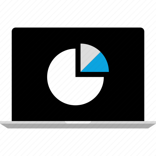 analytics, chart, gfx, graphic, information, pc icon