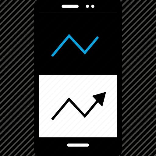 analytics, arrow, double, gfx, graphic, information icon