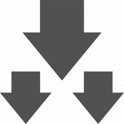 analytics, down, gfx, graphic, information, three icon
