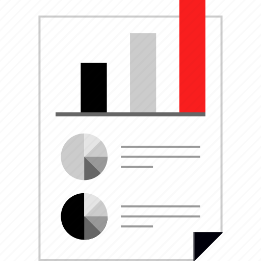 analytics, chart, web icon