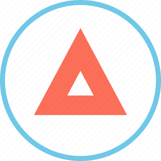 arrow, menu, point icon